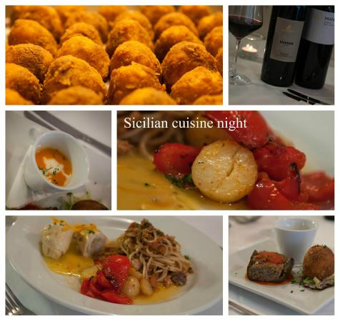 Martini Restaurant: Dishes from our Sicilian cuisine night
