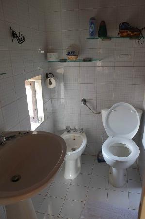 Bed & Breakfast Dolce Silenzio : Salle de bain sans plus (la chasse d'eau déconnait)