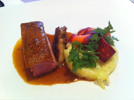 Canard foie gras poil choux et carottes d 39 hiver foto van de gouden muts westerlo tripadvisor - Foto poile ...