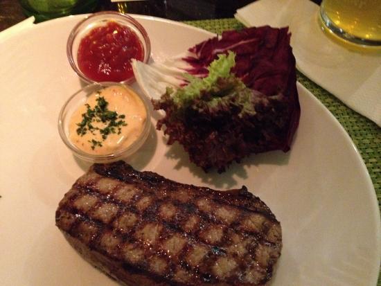 FRANK'S American Bar & Restaurant : Rumpsteak 200g