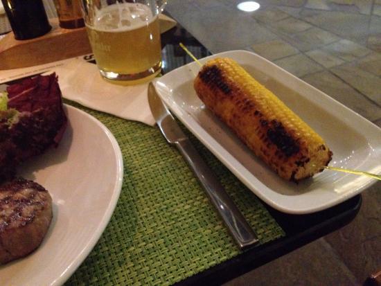 FRANK'S American Bar & Restaurant : Corn on the Cob Maiskolben