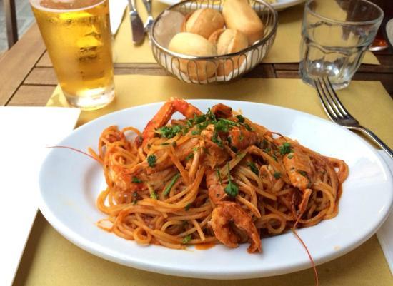 Spaghetti aux fruits de mer picture of conca d 39 oro venice tripadvisor - Spaghetti aux fruits de mer ...