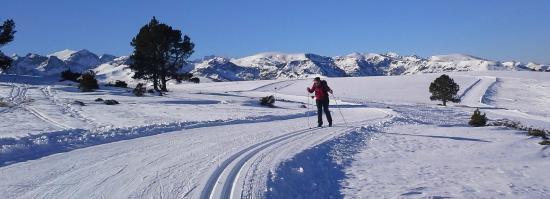 Les Chataigniers de Florac: Plateau de Beille en ski de fond