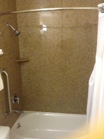 Howard Johnson Inn San Diego Sea World: Shower