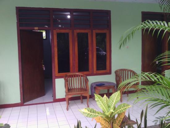 Chez Felix Hotel & Restaurant : balcony