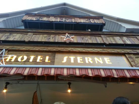 Hotel Sterne: Outside