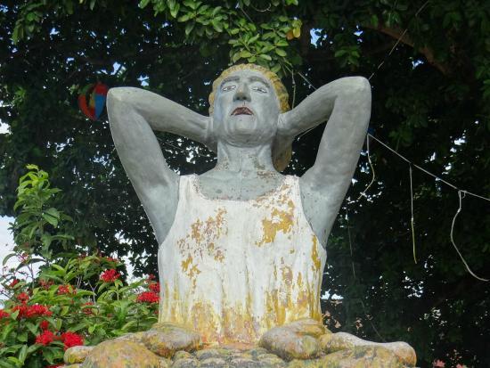 Espinal, Kolumbien: La Candileja, en el Parque Mitológico