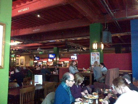 Walkabout: A wee view of the busy bar on a Monday lunchtime! Xx