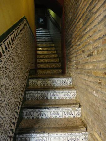 Pension Vergara : stairs up