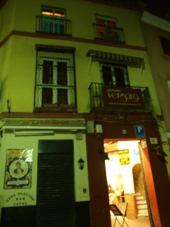 Pension Vergara: outside