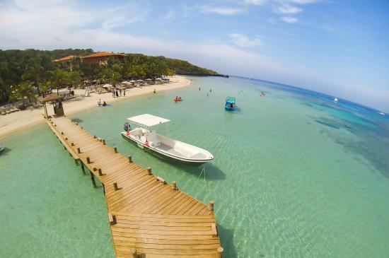 Infinity Bay Spa and Beach Resort: Private Dock
