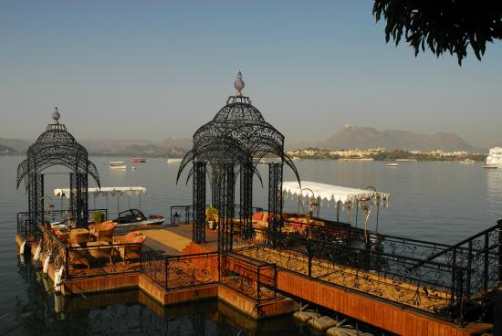 Taj Lake Palace Udaipur: Boat Launch Area