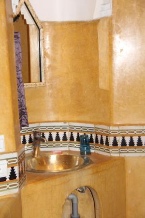 Riad Chorfa: salle de bains