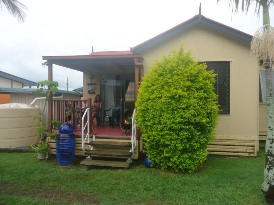Darra Motel & Conference Centre : The patio was great! nice and private