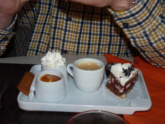 Le Galion : café gourmand...