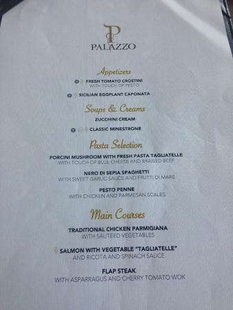 Palazzo Lunch Picture Of Paradisus Palma Real Golf Amp Spa
