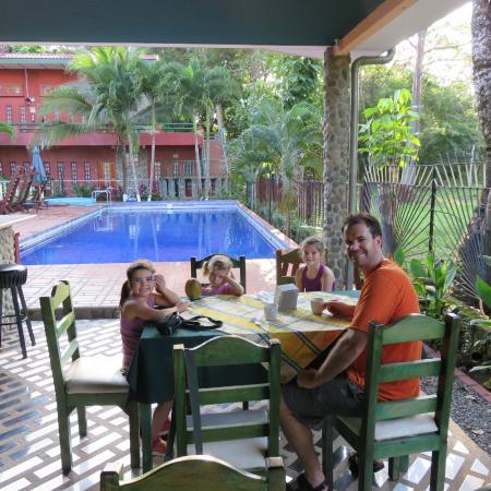 Hotel Playa Bejuco: déjeuner