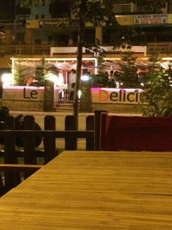 Le Delicium : outside delicium