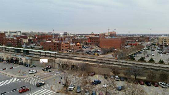 Courtyard Oklahoma City Downtown: Balcony overlooking Bricktown