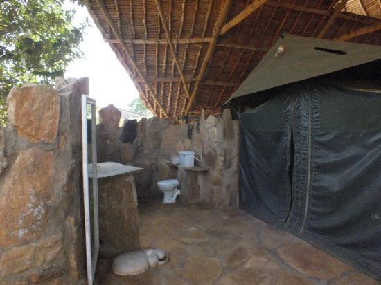 Ithumba Camp : As is the Toilet etc.,