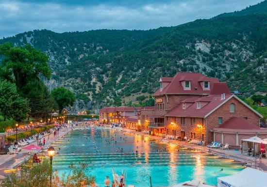 Glenwood Hot Springs Pool World S Largest