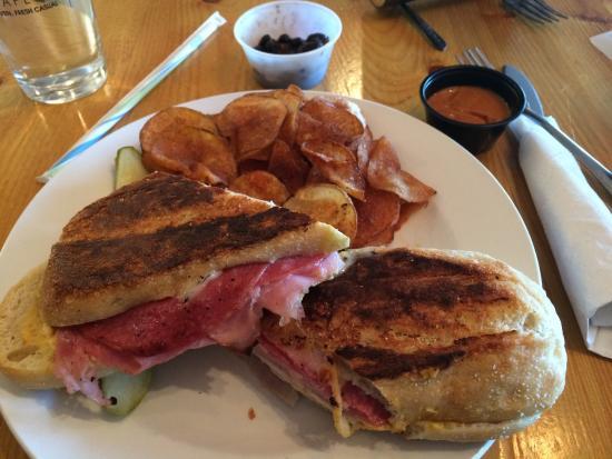 Troy's Cafe: Cuban Panini
