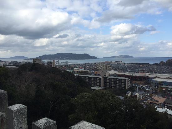 Atago Jinja Shrine: 眺望