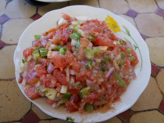 Chez Chegrouni : LA salade marocaine (très bonne)
