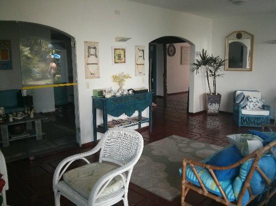 Pousada Ilha de Itaka : Sala de descanso, comum a todos os hóspedes