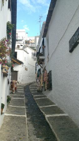 Hostal Pampaneira Casa Alfonso: una calle del pueblo