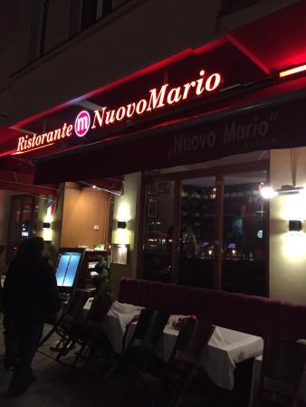 Nuovo Mario: Location Entree