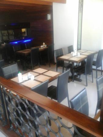 Aquarium Hotel : Sector desayuno