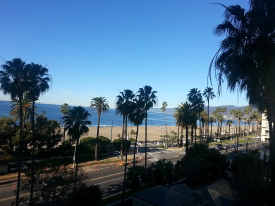 Fairmont Miramar Hotel & Bungalows: View from the room