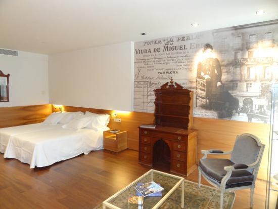 Gran Hotel La Perla: Esta es la habitación confortabilisima dedicad a la fundadora del hotel Teresa Gratz