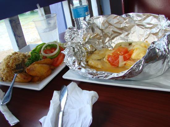 Arawak Cay: Baked Grouper