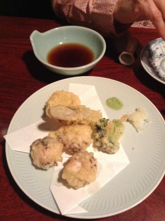 Oidenka : タコの天ぷら