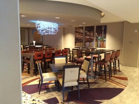 SpringHill Suites San Antonio Downtown/Riverwalk Area: Main area
