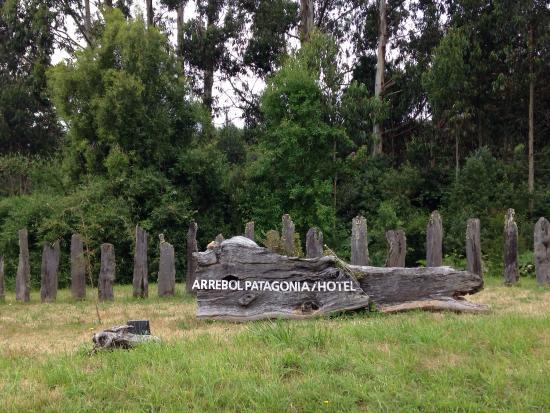 Arrebol Patagonia Hotel: Entrada Arrebol