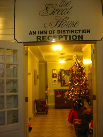 The Great House: Reception entrance