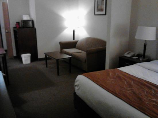 Comfort Suites South Haven : Room 103: 2015-01-15