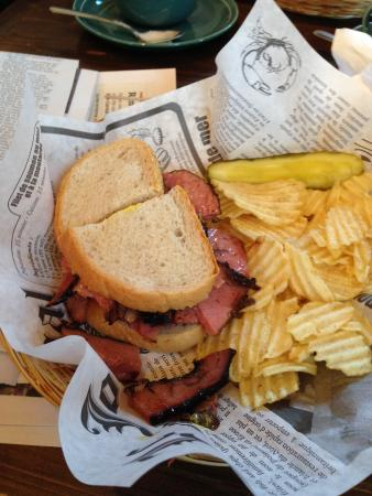 Star Cafe: Can't beat the house smoked meat