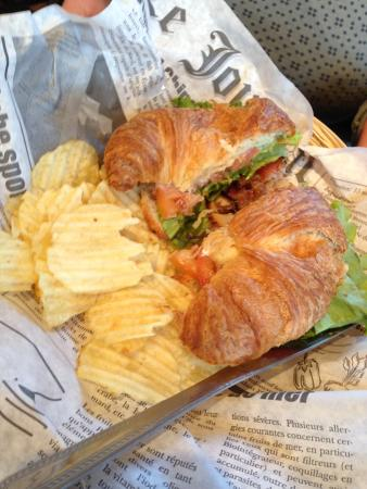Star Cafe: Disappearing Croissant BLT
