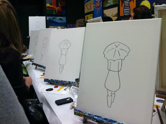 Uptown Art : Canvas when we started