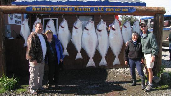 Clam Gulch Lodge: Halibut Fishing