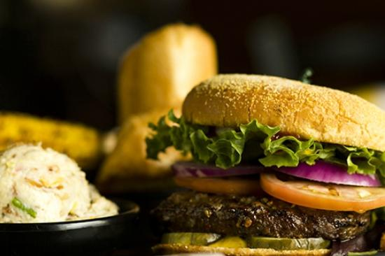 Red Rock BBQ : Burger