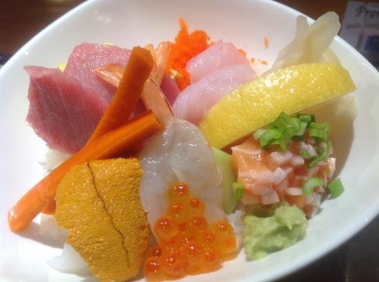 Nagashima: omakase Chirashi
