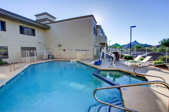 Comfort Inn Fountain Hills - Scottsdale: Pool