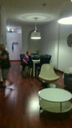 Apartamentos Torre de la Plata: salon