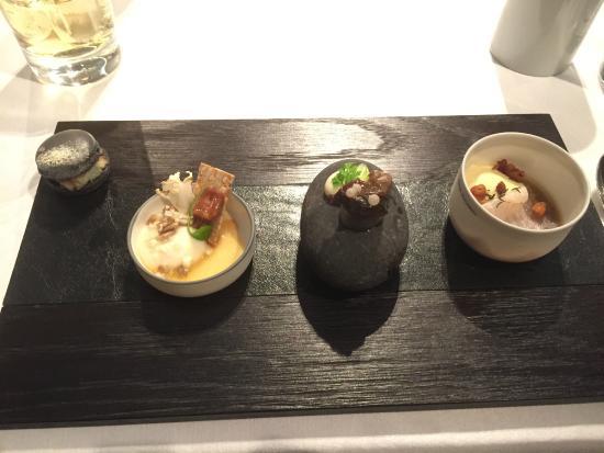 Hotel Restaurant Spa Rosengarten: Gruß aus der Küche