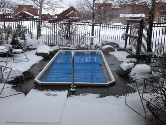 River Rock Lodge: Hot Tub